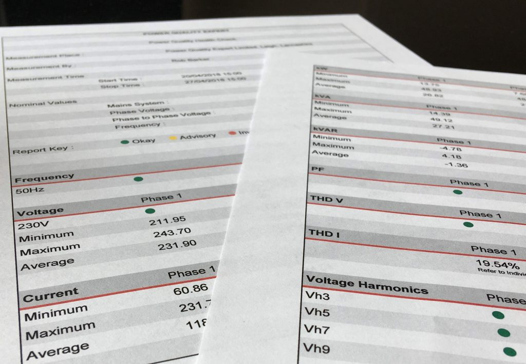 Power Quality Health Check Report