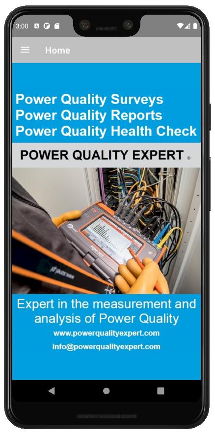 Power Quality Health Check Companion App